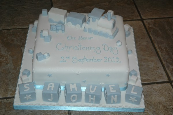 Christening Cakes - Celebrations CakesCelebrations Cakes
